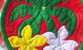 クリスマスミニタペストリー